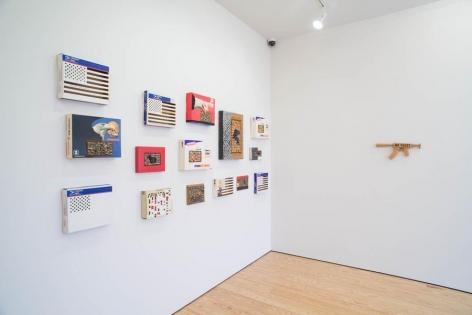 Miguel Angel Ríos,Folding BordersExhibition, Sicardi   Ayers   Bacino, 2013