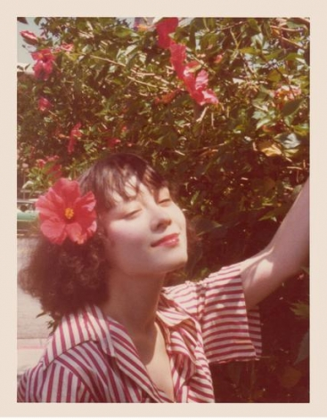 Tina Chow. 1974, 4.5 x 3.25 inch unique vintage Kodak print