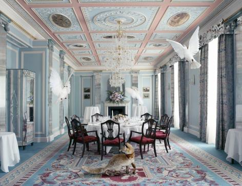 The Wedding Party, Balgravia Room, 2015, Archival pigment print