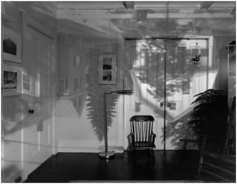 Houses in Living Room, Quincy, MA, 1991.