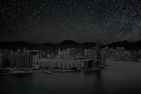 Hong Kong 22° 17' 22'' N 2012-03-23 lst 16:16, 	39 x 60 inch pigment print - Edition of 3