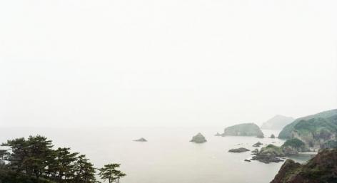 "Irozaki, Minami-Izu, Shizuoka, From the series Horizons, 2008, 12 x 22"" C-Print"