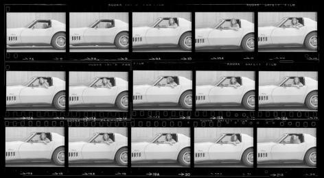 Joan Didion. Hollywood. 1968, Contact Sheet 2