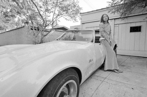 Joan Didion. Hollywood. 1968 (22-1), 16 x 20 inches