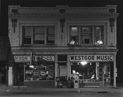 First Street, Dixon, IL, 1984.