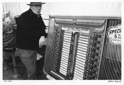 NYC, 1949 (Jukebox) , Print Date 1978