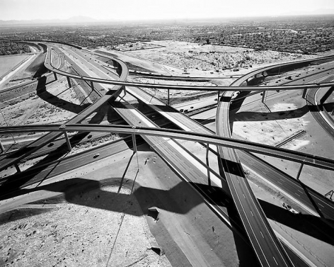Interchange of Highways 60 and 202 Looking West; Mesa, AZ; 2007, 24 x 30 inch pigment print - Edition of 5