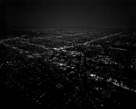 Untitled/Downtown Dusk, Los Angeles, CA; 2005, 24 x 30 inch pigment print - Edition of 10