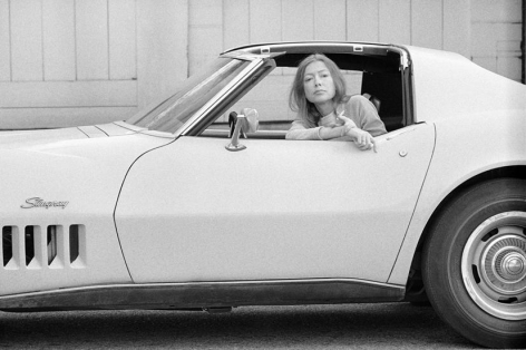 Joan Didion. Hollywood. 1968 (13a.), 16 x 20 inches