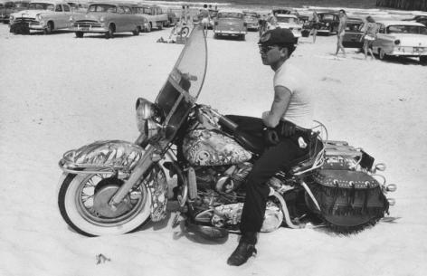 Daytona, Florida. 1962, 11 x 14 inch gelatin silver print