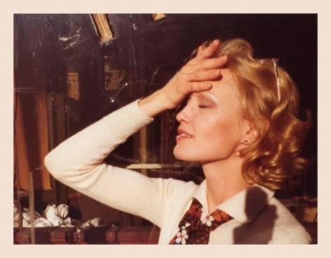 Jessica Lange. 1974, 3.25 x 4.5 inch4.5 x 3.25 inch unique vintage Kodak print