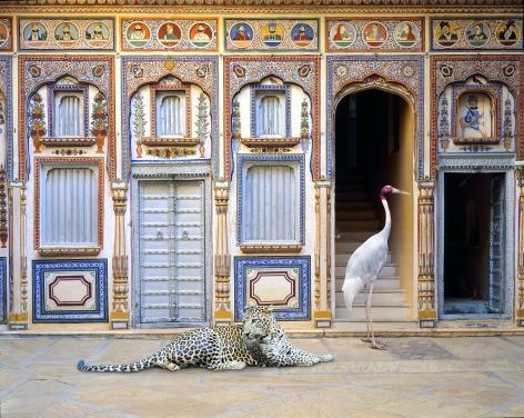 Reconciliation, Poddar Haveli, Nawalgarh, 2020, 23.5 x 30 inch pigment print