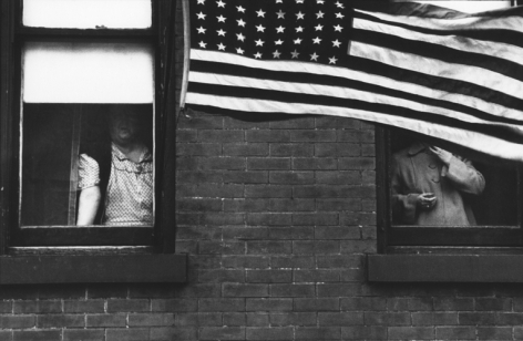 Hoboken, New Jersey. 1955, 11 x 14 inch gelatin silver print