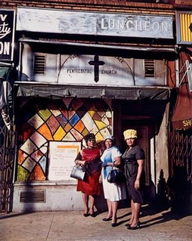 Harlem Church, New York, 1964, 20 x 16 inch dye transfer print