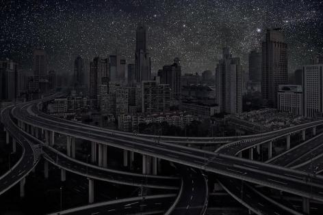 Shanghai 31° 13' 22'' N 2012-03-17, 26 x 40 inch pigment print - Edition of 5