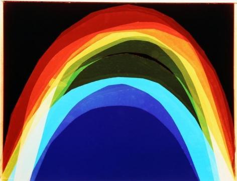 Rainbow, 2016, Analog Chromogenic Photo, Unique