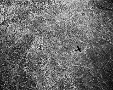 Shadow at 300', 1300 hours, Deep Springs Valley, California; 2001, 24 x 30 inch pigment print - Edition of 10