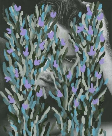 Untitled (Jason Morgan by Matthew Brookes for Giorgio Armani Acqua Di Gio), 2016, 10.75 x 9 inches