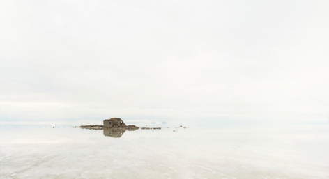 "Salar de Uyuni III, From the series Horizons, 2010, 	12 x 22"" C-Print"