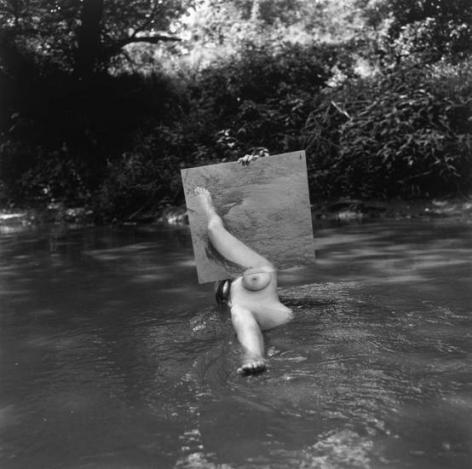 Old Man's Creek, 1971, 11 x 14 inch gelatin silver print