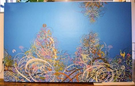 Untitled, 2005 acrylic on board