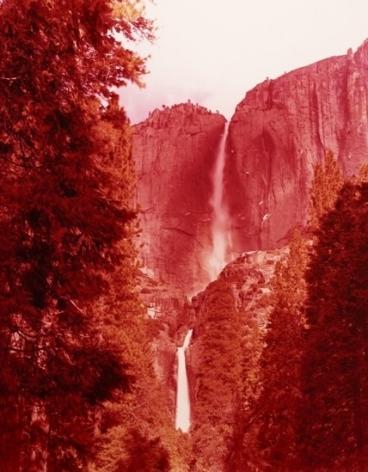Yosemite Falls, California, 2013, 38 x 30 inch c-print