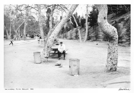 Los Angeles Picnic Ground, 1958 , Print Date 1955-1960