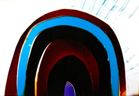 Black Rainbow, 2016, Analog Chromogenic Photo, Unique