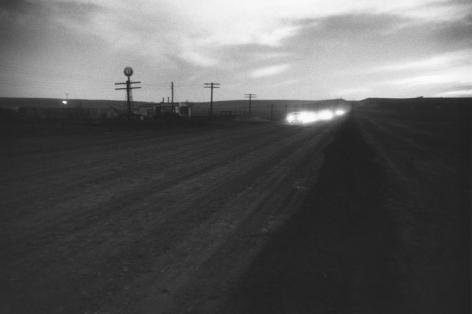Lusk, Wyoming. 1956, 11 x 14 inch gelatin silver print