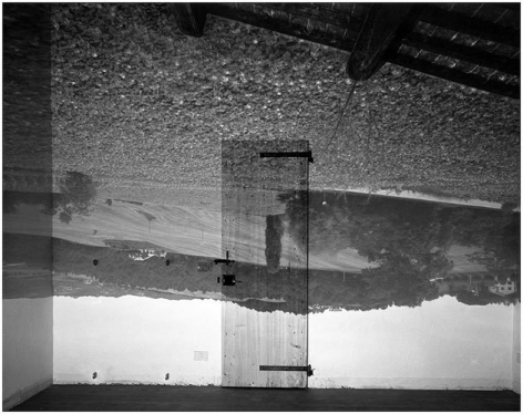 Landscape in Empty Room, Umbria, Italy, 2000.