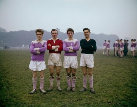 Phoenix Park on a Sunday, Dublin.1966, 16 x 20 inch dye transfer print