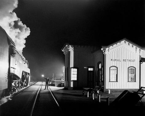 O. Winston Link, Birmingham Special, Rural Retreat, Virginia, 1957.