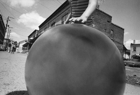 Untitled, WIlkes-Barre, 1975 , 	16 x 20 inch vintage gelatin silver print