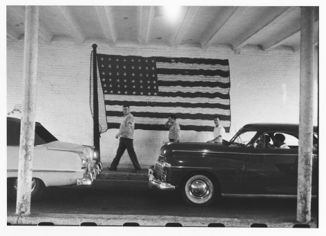 Untitled (Flags and Cars), 1955/56, Print Date 1978