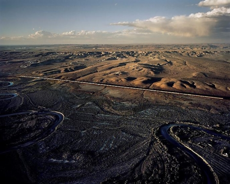 Union Pacific Freight Train Heading West, Near Rock Springs, WY; 2007, 24 x 30 inch pigment print - Edition of 5*