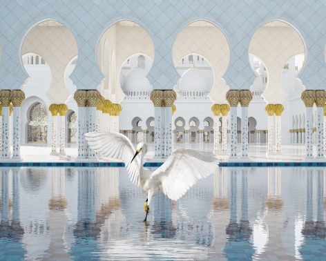 The Way of Ishq, Grand Mosque, Abu Dhabi, 2019, 48 x 60 inch archival pigment print