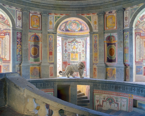 Winds of Change, Villa Farnese, Caprarola 2015, Archival pigment print