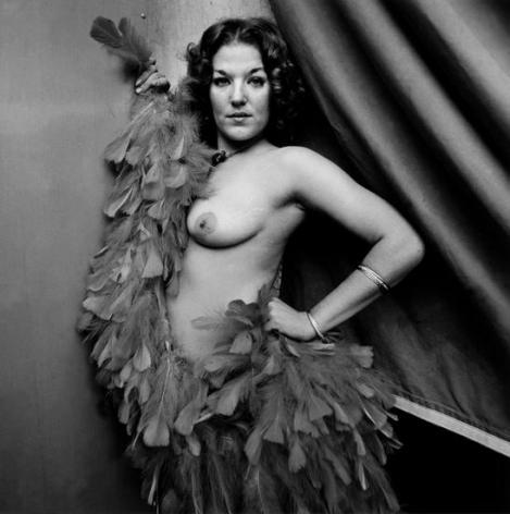 "Mitzi, Tunbridge, VT, 1974, From ""Carnival Strippers"""