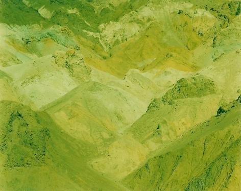 Desert Hills, Death Valley, California, 2013, 28 x 36 inch c-print