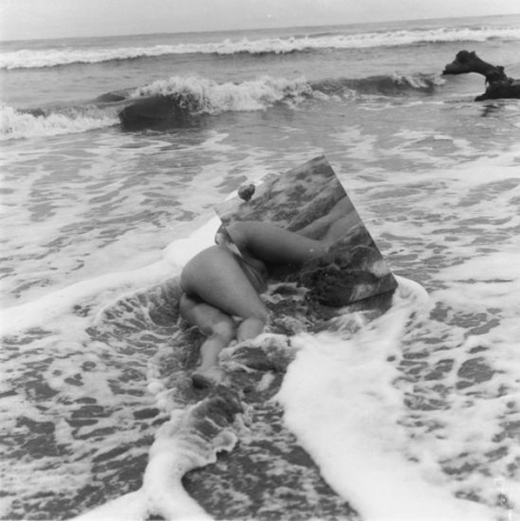 """From the series, """"Body/Sculptures"""". 1969-1973, Untitled"""