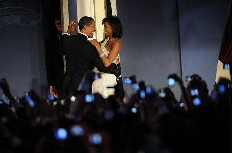 Scout Tufankjian. President Barack Obama and First Lady Michelle Obama, Inauguration Night, 2009.