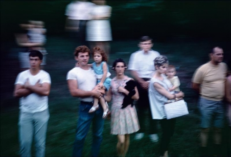 Paul Fusco , 	Untitled from the RFK Train