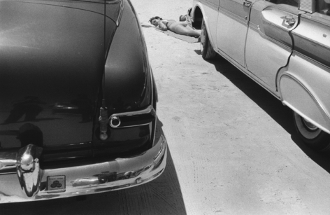 Daytona, Florida. 1958, 11 x 14 inch gelatin silver print