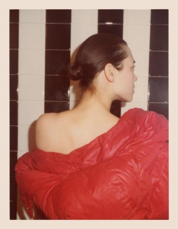 Tina Chow, 1975, 4.5 x 3.25 inch unique vintage Kodak print