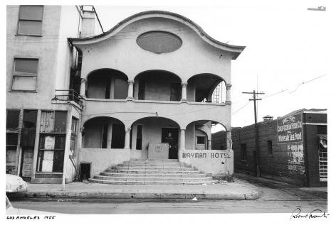 Los Angeles, 1955 (Wayman Hotel), Print Date 1978