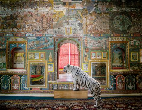 Guarding Honour, Kota City Palace, Kota, 2020, Archival pigment print