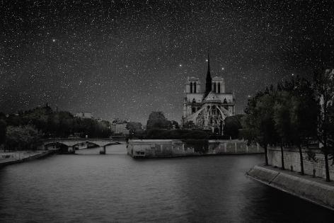 Thierry Cohen, Paris Notre Dame 48° 51' 03'' N 2012-07-19 lst 19:46