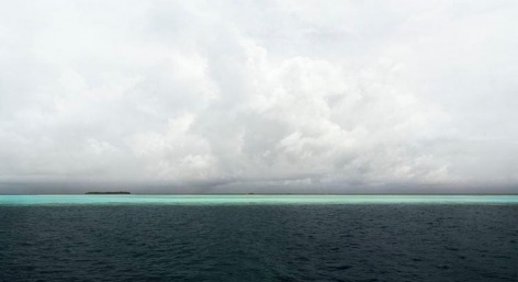 "Indian Ocean, 2007, 24 x 44"" C-Print"