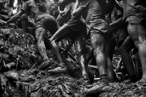 Gold Mine, Serra Pelada, State of Pará, Brazil (Legs). 1986