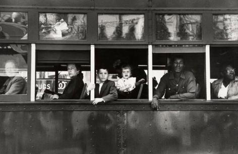 Robert Frank, Trolley New Orleans. 1955